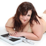 Pérdida de peso. Fotos de archivo