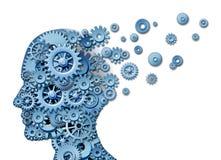 Pérdida del cerebro Imagen de archivo libre de regalías