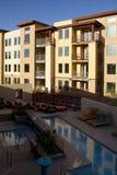 Prédios de apartamentos home modernos Foto de Stock Royalty Free