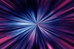 Prędkość Światła Fotografia Royalty Free