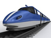 prędkość wysoki pociąg Obraz Royalty Free