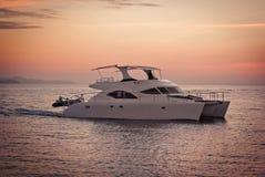 Prędkości łódź Fotografia Royalty Free