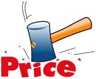 Preço ilustração do vetor