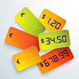 Preço brilhante universal Fotografia de Stock