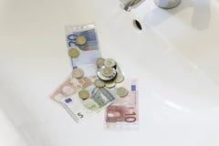 Preço da água Imagem de Stock