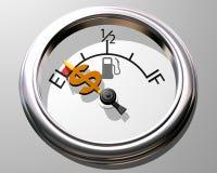 Preço do gás Fotos de Stock Royalty Free