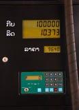Preço do posto de gasolina fotos de stock
