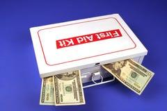 Preço elevado dos cuidados médicos Foto de Stock