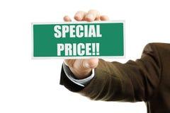 Preço especial imagem de stock royalty free