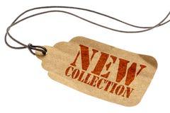 Preço novo da etiqueta da coleção imagens de stock