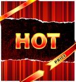 Preço quente Fotos de Stock Royalty Free