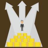 Preço Startup do negócio Fotografia de Stock