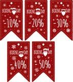 Preços ajustados Fotografia de Stock Royalty Free