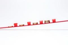 Preços de aumentação dos bens imobiliários Imagens de Stock Royalty Free