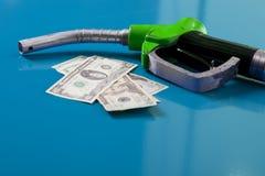 Preços de combustível Fotos de Stock Royalty Free