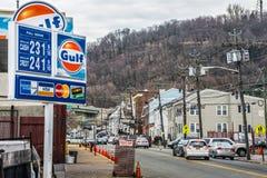 Preços de gás Paterson Foto de Stock