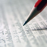 Preços de parte de seguimento fotos de stock royalty free
