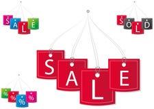 Preços do vetor Fotografia de Stock
