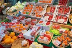 Preços dos alimentos de Japão Fotos de Stock Royalty Free