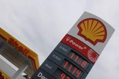 Preços elevados da gasolina Imagem de Stock