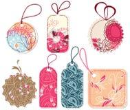 Preços florais ilustração royalty free