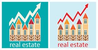 Preços para bens imobiliários Fotografia de Stock Royalty Free