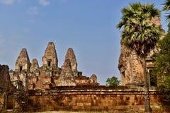 Pre висок Rup в Angor, Siem Reap, Камбодже стоковые изображения rf