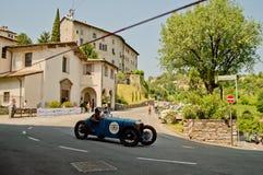 Pre война racecar на Бергаме историческом Grand Prix 2017 Стоковые Фото