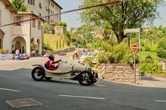 Pre война racecar на Бергаме историческом Grand Prix 2017 Стоковая Фотография