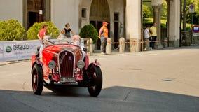 Pre война racecar на Бергаме историческом Grand Prix 2017 Стоковое Фото
