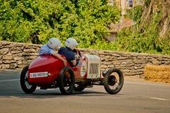 Pre война racecar на Бергаме историческом Grand Prix 2017 Стоковая Фотография RF