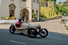Pre война racecar на Бергаме историческом Grand Prix 2017 Стоковые Фотографии RF