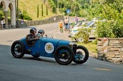 Pre война racecar на Бергаме историческом Grand Prix 2017 Стоковое Изображение RF