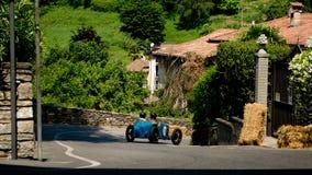 Pre война racecar на Бергаме историческом Grand Prix 2017 Стоковые Изображения