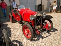 Pre война racecar на Бергаме историческом Grand Prix 2017 Стоковое Изображение