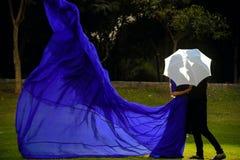 Pre фотография свадьбы стоковая фотография