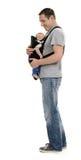 Père avec le bébé Images libres de droits
