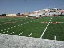 Pre campo de futebol do jogo Foto de Stock Royalty Free