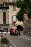 Pre carro de corridas da guerra em Bergamo Prix grande histórico 2015 Imagens de Stock Royalty Free