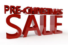 Pre Christmas Sale Royalty Free Stock Image