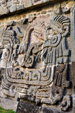 Pre-Columbian archaeological site of Xochicalco in Mexico stock images