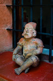 Pre Columbian figurine Royalty Free Stock Photos