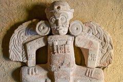 Pre-Columbian Maya sculpture royalty free stock images