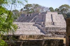 Pre Columbian Maya structure royalty free stock image