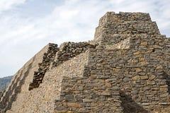 Pre Columbian pyramid in Tzintzuntzan. Pre Columbian stone structure  in Tzintzuntzan, Michoacan, Mexico Stock Images