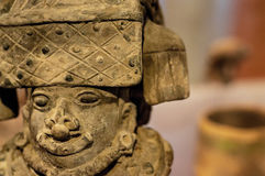 Pre-Columbian Sculpture. An ancient sculpture in Bogota, Colombia Royalty Free Stock Photo