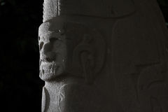 Pre-columbian statue Royalty Free Stock Images