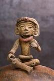 Pre Columbian Warrior. Stock Photo