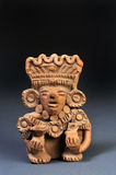 Pre Columbian Warrior. Pre Columbian Zapotec Warrior 600 AD Stock Photos