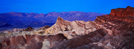 Zabriskie Point Panorama Stock Photos